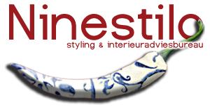 logo Ninestilo- styling & interieuradviesbureau (Delfts Blauwe peper)